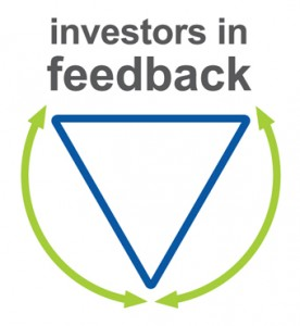 Investors in Feedback Logo